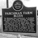 "Blues Marker relativo a ""Parchman Farm Blues"""