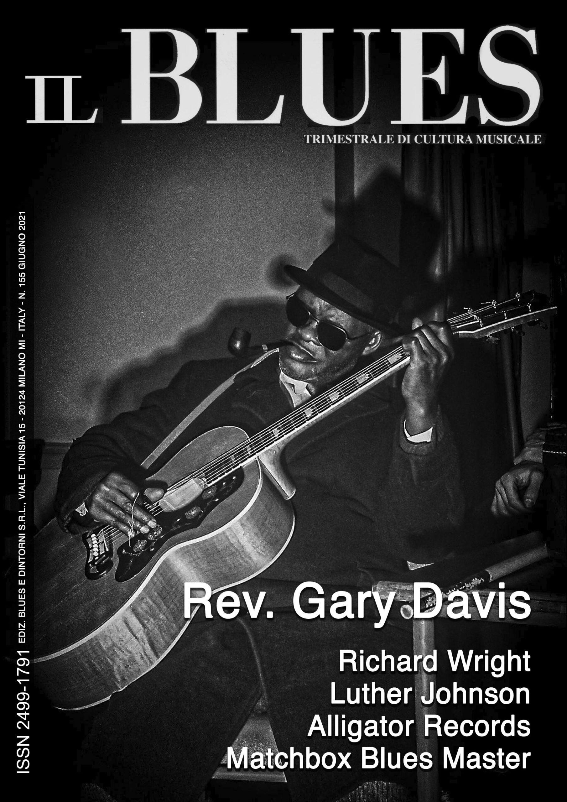 Copertina n. 155 Il Blues magazine