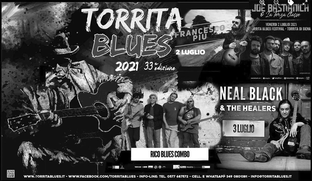 Manifesto Torrita Blues 2021